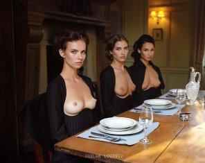 amateur photo Dinner time