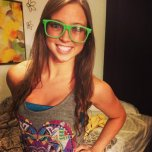 amateur photo Goofy glasses