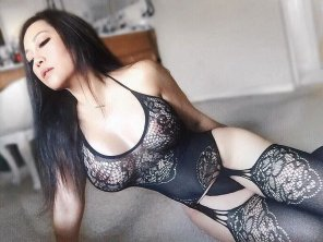 amateur photo Juicy in Lingerie
