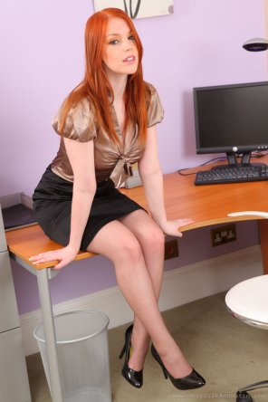 amateur photo Yummy Secretary