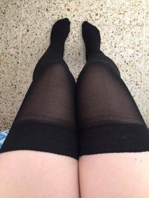 amateur photo Should I wear a long or short skirt with this today? ;) [f]