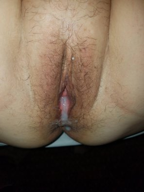 amateur photo Cream filling! I like PM's!