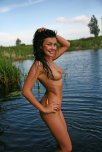 amateur photo Smiling Wet Girl