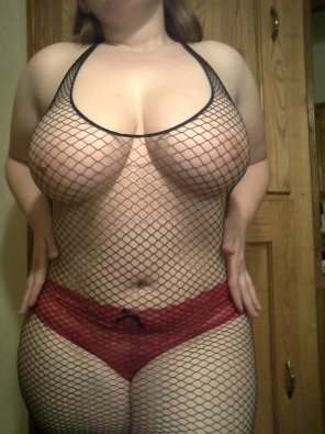 amateur photo Fishnets