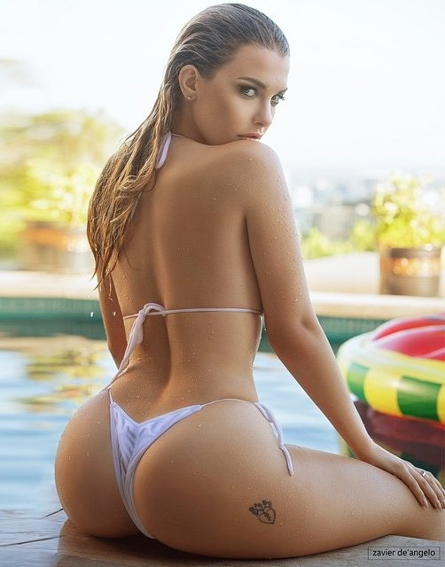 By the pool Porn Photo