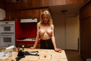 amateur photo Dark kitchen