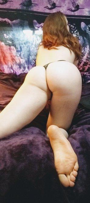 amateur photo Pale booty