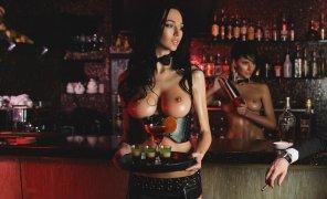 amateur photo Nude bar
