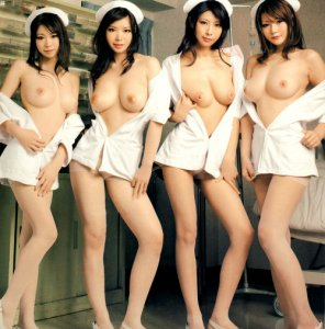 amateur photo Four nurses
