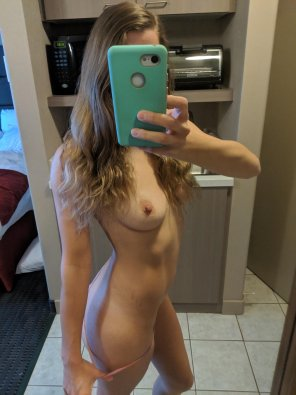 amateur photo [F]eeling a little lonely in my hotel room