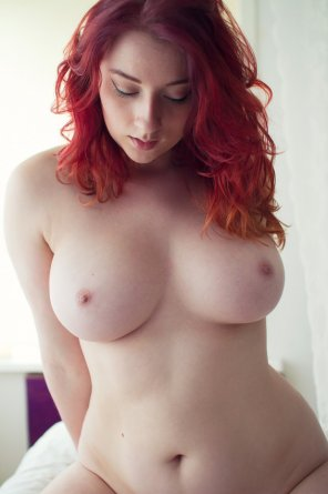 amateur photo Fiery redhead