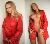 amateur photo Red jacket