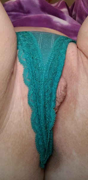 amateur photo Once again, pussy too fat for my thong