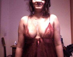 amateur photo The lingerie helped