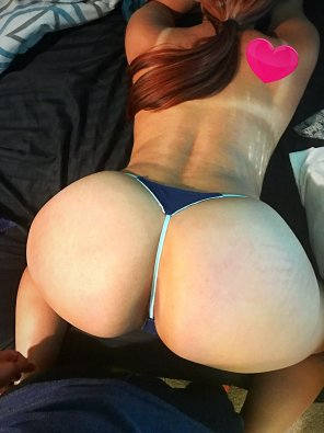 amateur photo My girl's sweet ass