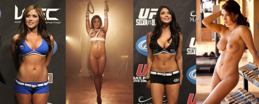 Which UFC ring girl do you think is hotter? Porn Photo