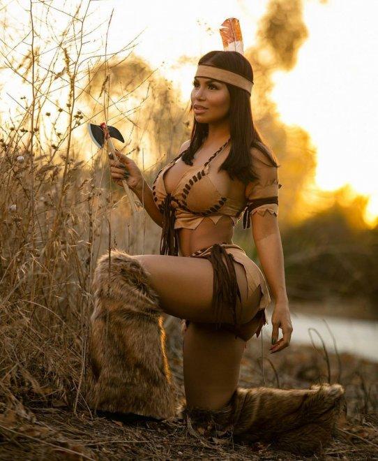 Iiving Pocahontas Porno Zdjęcie