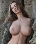 amateur photo Impressive brunette