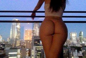 amateur photo Enjoying the view