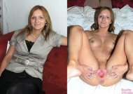 amateur photo Mom spreads it