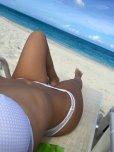amateur photo White Bikini on the Beach [MIC]