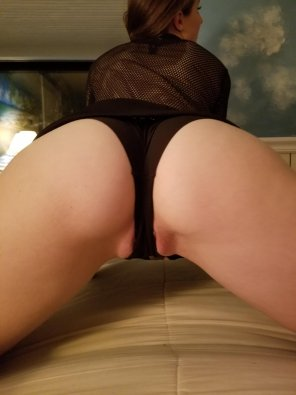 amateur photo Black panties