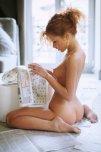 amateur photo Sunday paper...