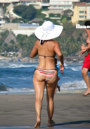 amateur photo Beach Milf