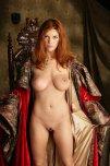 amateur photo Roxetta the redhead maiden