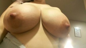 amateur photo Pregnant titties are the best...