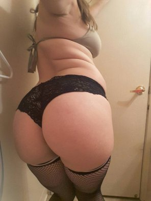 amateur photo Lace Panties and Stockings