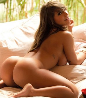 amateur photo Her rump is so amazing