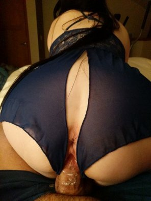 amateur photo [F][M] Riding and making a mess