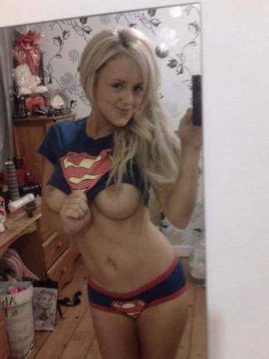 amateur photo Superman fan