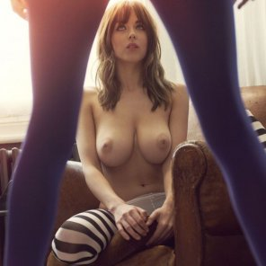 amateur photo Danielle Sharp - Striped Leggings