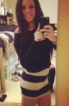 amateur photo Tight skirt