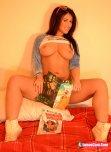 amateur photo Comic book girl