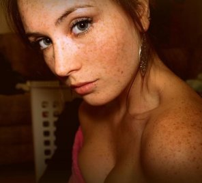 amateur photo Those eyes and freckles