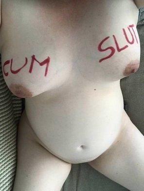 amateur photo Pregnant but still a dirty little cum slut