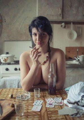 amateur photo Wild woman