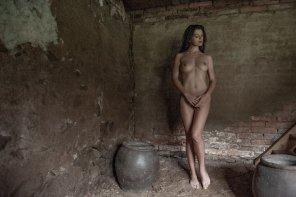amateur photo Elegant nude