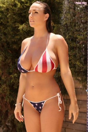 amateur photo Excellent American bikini