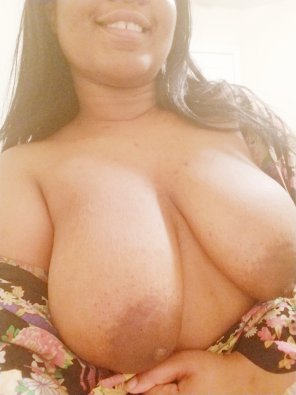 amateur photo It's Titty Tuesday! Would you like to feel these funbags?