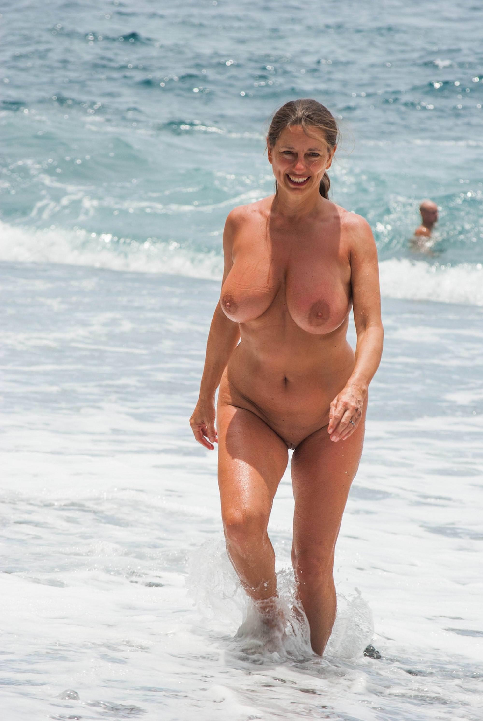 On pornhub nude the milfs public beach
