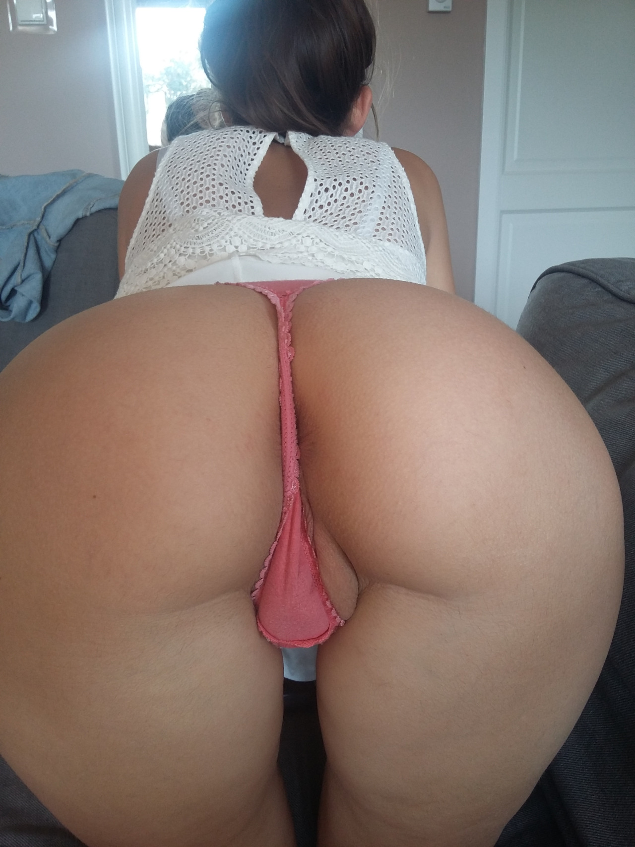 All became Amateur flash pussy in thong accept