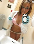 amateur photo Ready to perform an examination
