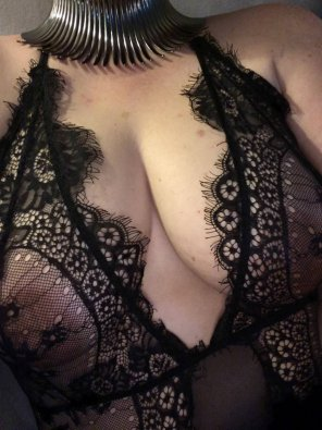 amateur photo Spikes and lace