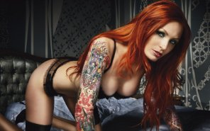amateur photo Stunning Red Head