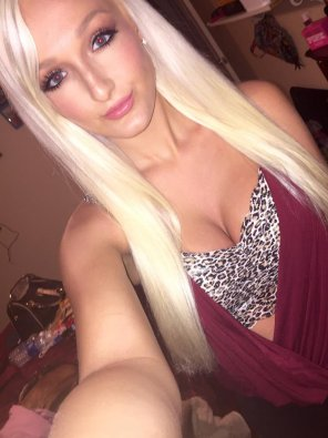 amateur photo Blonde hottie