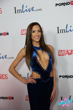 amateur photo Chloe Amour at AVN Awards